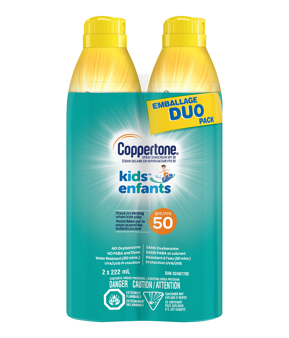Coppertone® KIDS Continuous Spray SPF50 Duo Pack