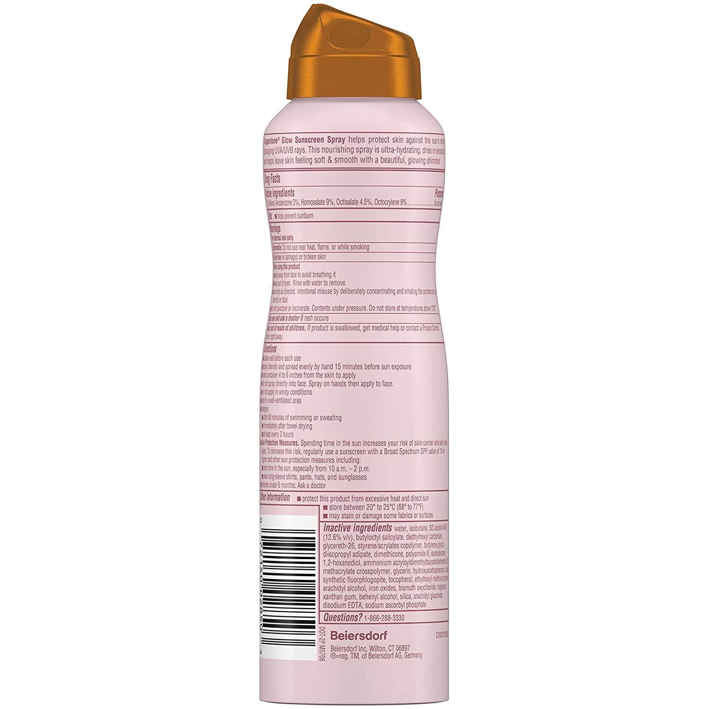 Coppertone Defend Care Ultra Hydrate Spray SPF50 Drug facts