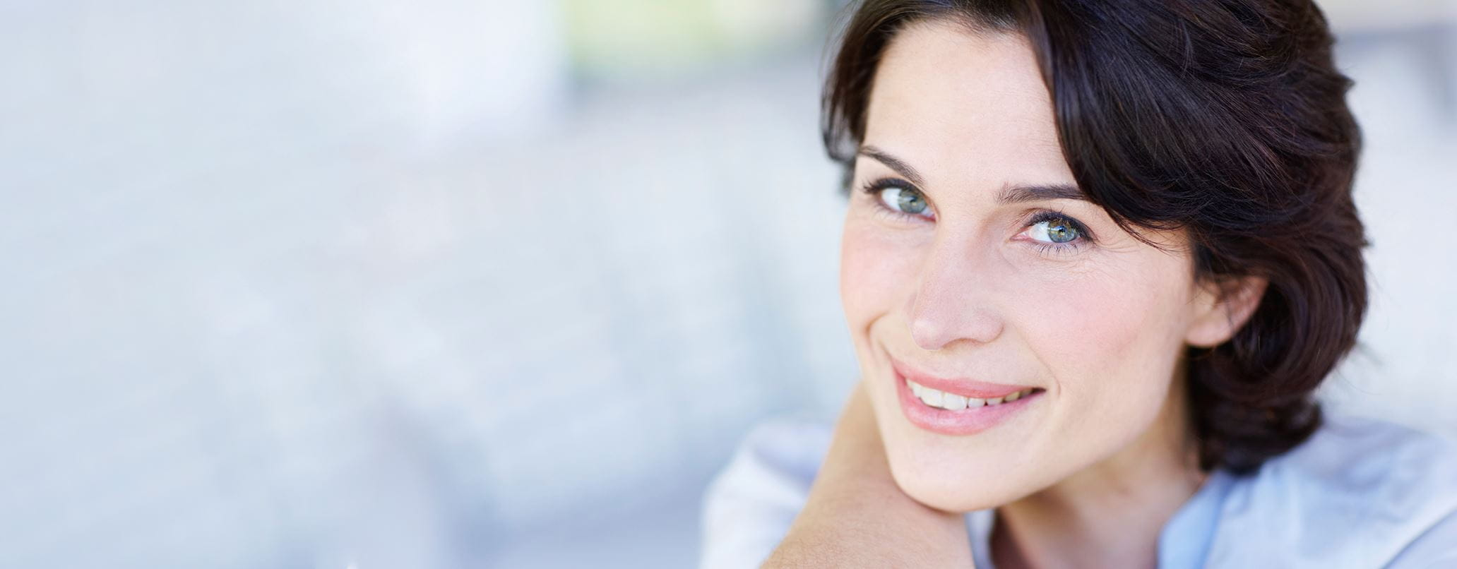 woman with menopause itchy skin