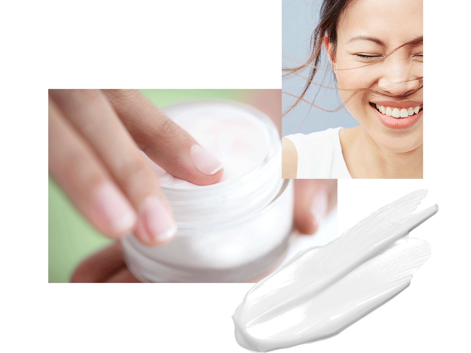 hand-in-cream-jar-smiling-woman