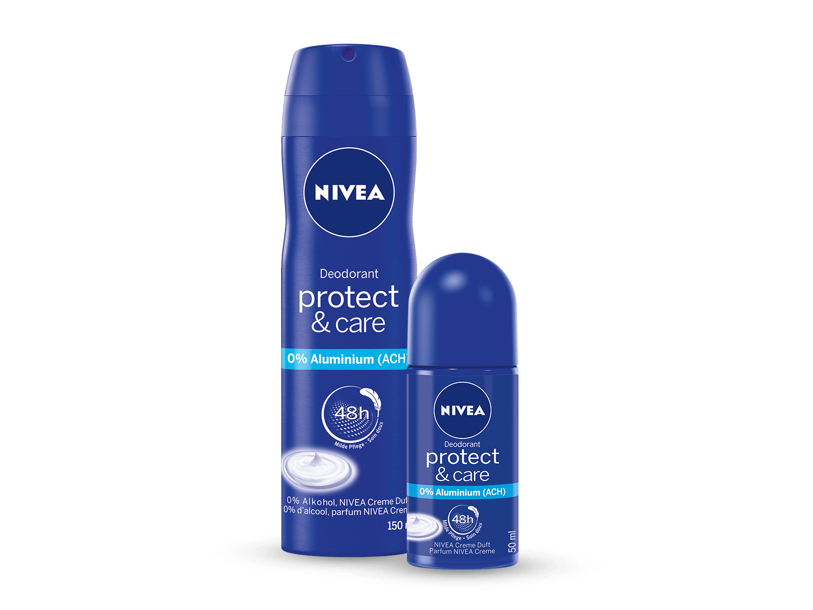 NIVEA Protect & Care Deo Spray imd Roll-on