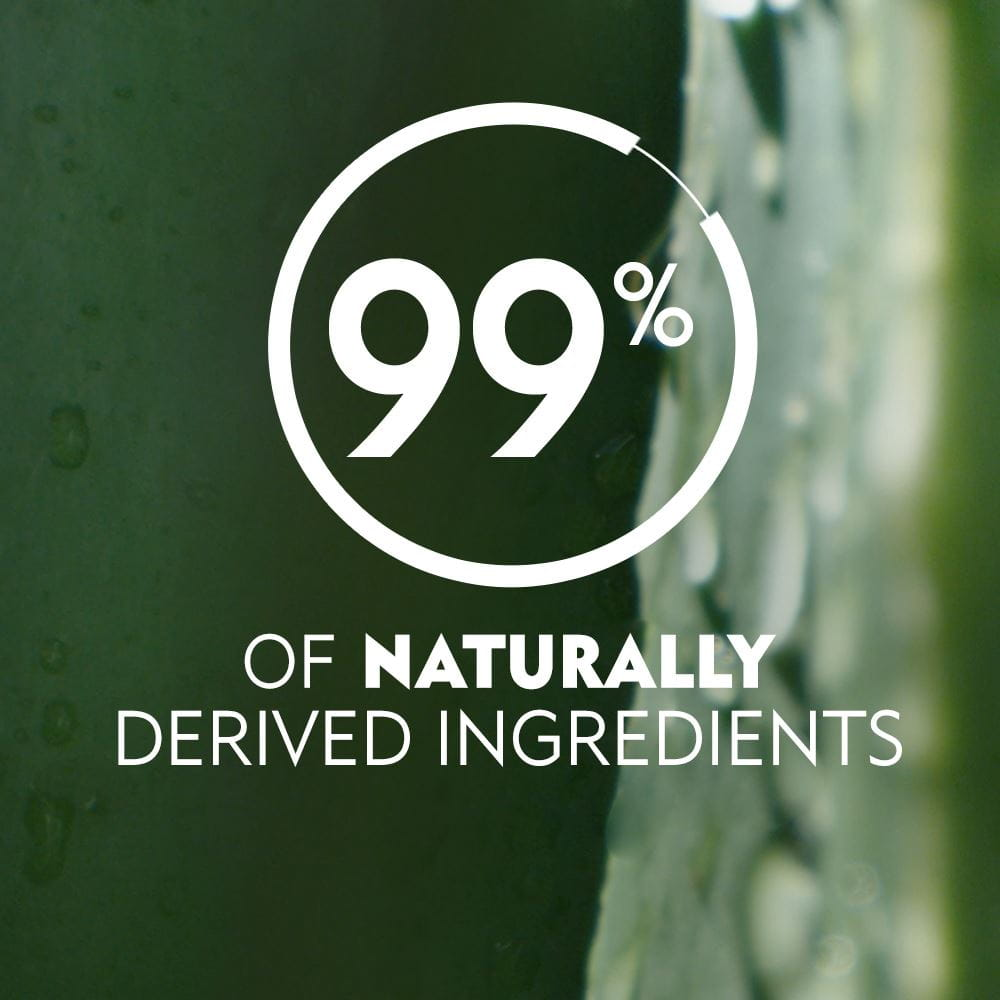 99% Of Naturally Derived Ingredients