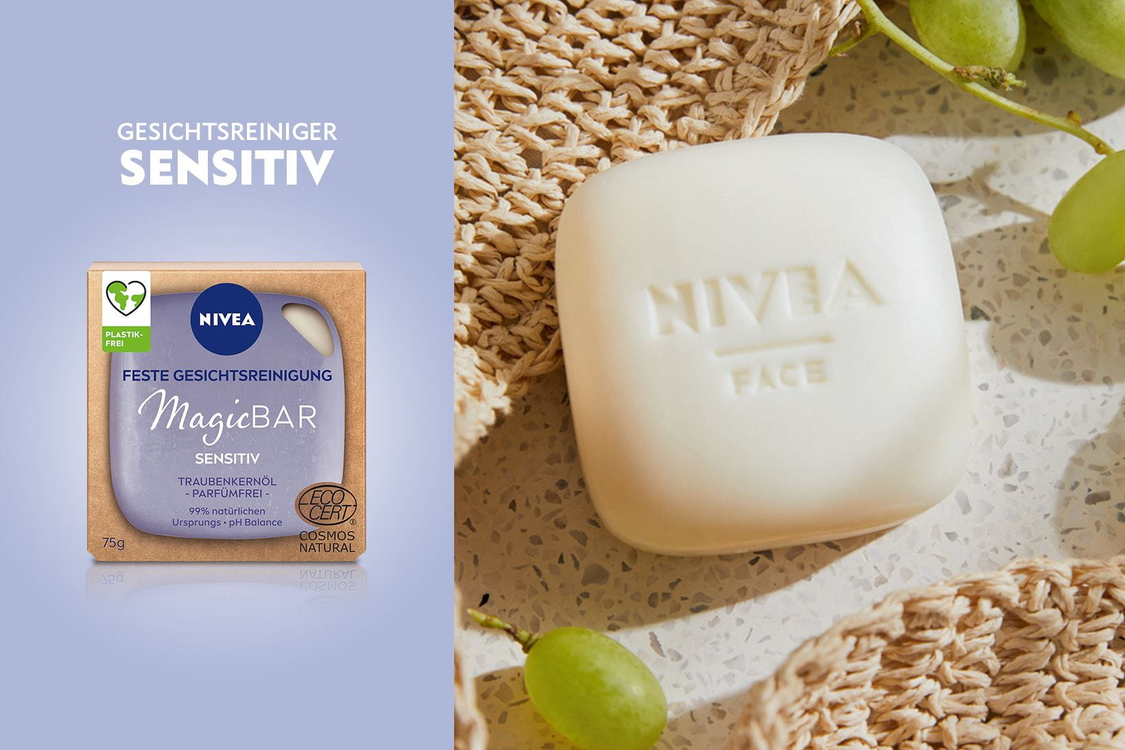 NIVEA Magic Bar – Sensitiv