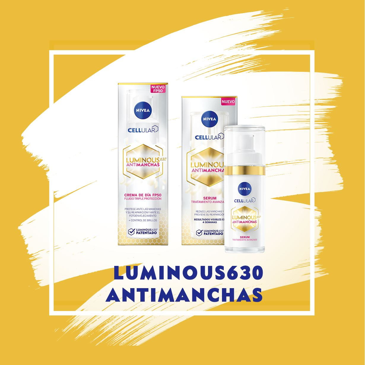 Tester NIVEA LUMINOUS 630 ANTIMANCHAS