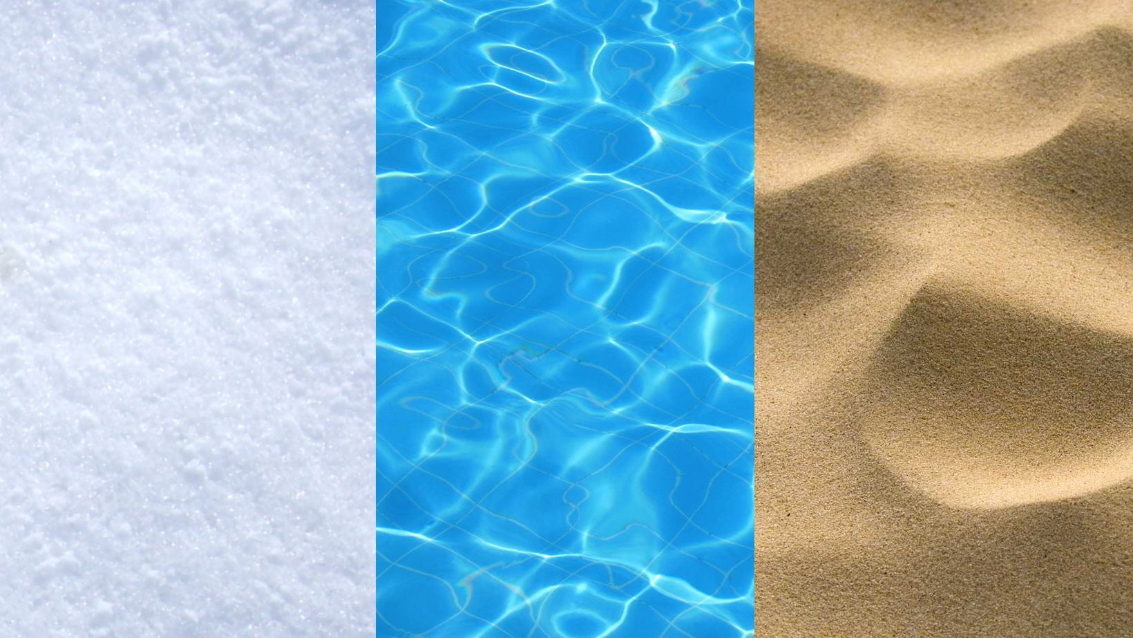 water sand