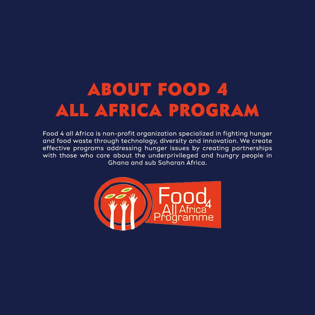 CSR - About Food 4 All Africa Program