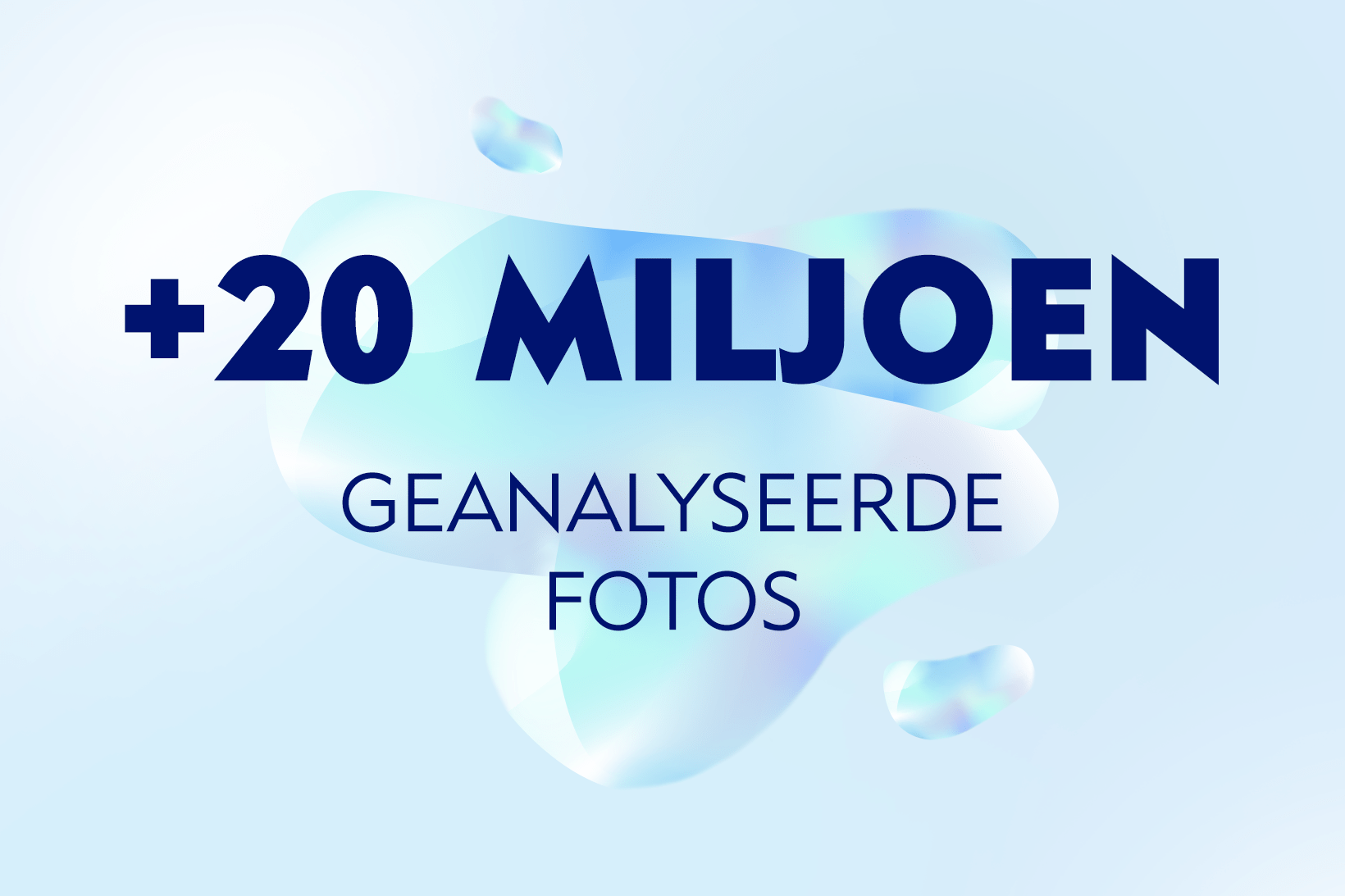 20 Mio images analysed