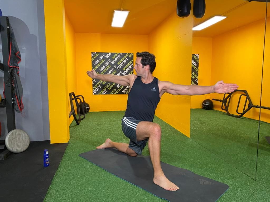 Personal trainer Nuno Neves