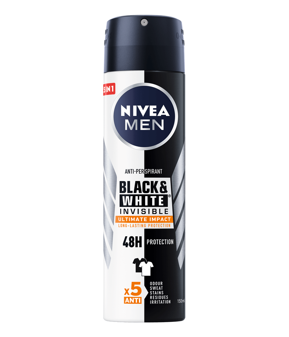 NIVEA men deo black and white ultimate impact