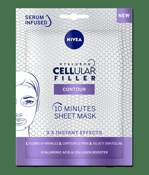 Hyaluron Cellular Filler Feltöltő Szérum Gyöngyök - NIVEA